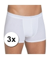 3x Sloggi basic heren shorty wit