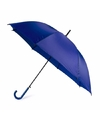 Blauwe automatische paraplu Ø 107 cm