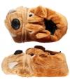 Dieren sloffen bulldog voor kinderen