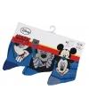 Disney sokken Mickey Mouse 3 pak
