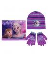 Frozen winter accessoires set roze voor kinderen