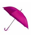 Fuchsia automatische paraplu Ø 107 cm