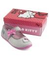 Grijze Hello Kitty pantoffels