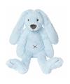Happy Horse blauw pluche konijn knuffel Richie