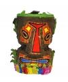 Hawaii pinata tiki masker 40 cm