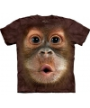 Kinder apen T-shirt Orang Oetan