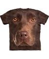 Kinder honden T-shirt bruine Labrador