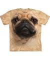 Kinder honden T-shirt Mopshond