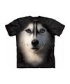 Kinder honden T-shirt Siberische Husky