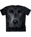 Kinder honden T-shirt zwarte Labrador