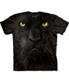 Kinder T-shirt zwarte panter