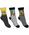 Kindersokken Spongebob 3-pak nr 1