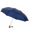 Kleine paraplu donkerblauw Ø 93 cm