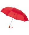 Kleine paraplu rood Ø 93 cm