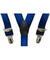 Kobalt bretels voor jongens