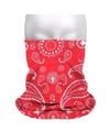 Multifunctionele morf sjaal boeren zakdoek print