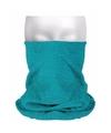 Multifunctionele morf sjaal turquoise