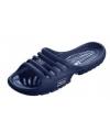 Navy zwembad slippers voor dames
