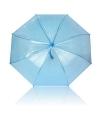 Plastic blauwe paraplu Ø 92 cm