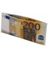 Portemonnee 200 eurobiljet
