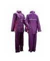 Regenpak paars/roze voor meisjes