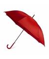 Rode automatische paraplu Ø 107 cm