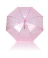 Roze plastic paraplu Ø 92 cm