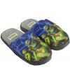 Turtles pantoffels blauw