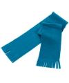 Voordelige kinder fleece sjaal lichtblauw