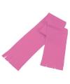 Voordelige kinder fleece sjaal roze