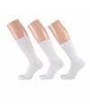 Witte dames sokken 3 paar maat 35/42