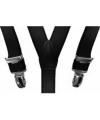 Zwarte bretels voor jongens