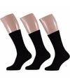 Zwarte heren sokken 3 paar maat 40/46